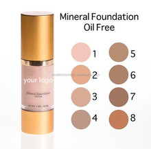 Private label perfect makeup waterproof beauty liquid foundation for oily skin