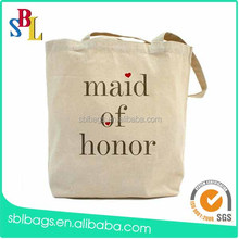 Customized reusable printed canvas Tote shopping Bag