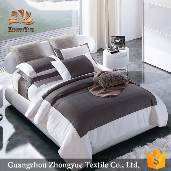 zhongyue full size woven 5 star hotel bedding sets