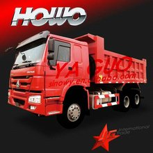 SINOTRUCK 6X4 howo tippers crawler dump