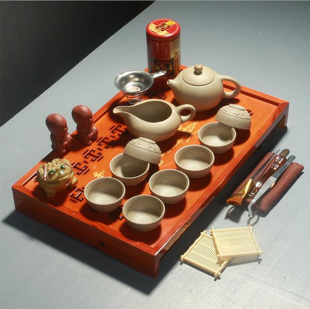 Drinkware Coffee&Tea Sets New 2018 Yixing Purple Teapot Kung Fu Tea Wholesale
