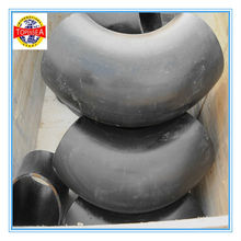 ASME dn100 carbon steel a105 lr sch40 90 degree pipe price per ton weld pressure rating for elbows