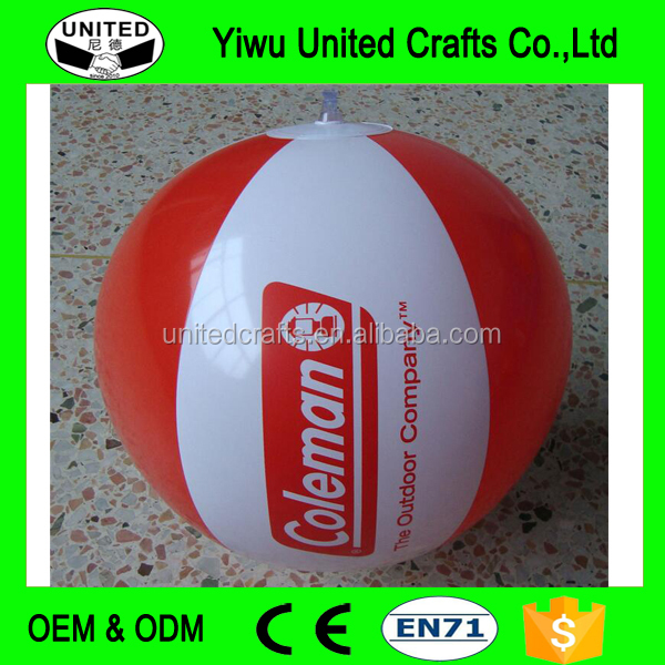 PVC Inflatable Beach Ball, party game PVC Inflatable Ball