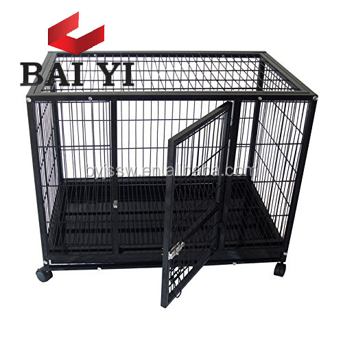 Outdoor Square Steel Tube Dog Cage