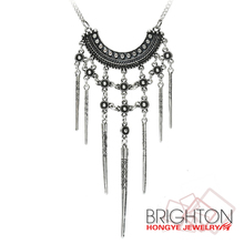 Chunky Metal Tassel Necklace N3-6276-3600