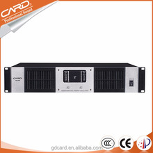 ktv case pro sound and lighting 3000W professional digital power amplifier