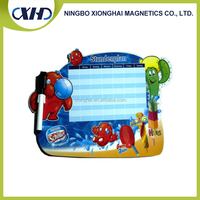 Made in China Full color Printing Kids Magnetic Drawing Writing Board