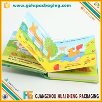 Funny Children Cardboard Book Printing Pop up Baby Book Wholesale