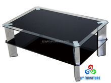 Living room furniture modern glass coffee table cheap center table for sale