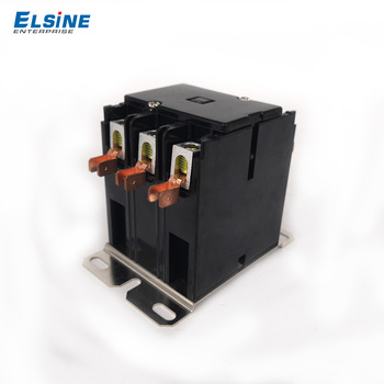 Elsine 30A Double pole  magnetic ac air conditioner contactor CJX9