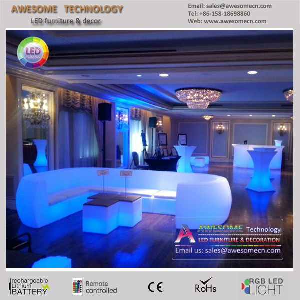 led wedding sofa Fantastic durable event hire Furniture (SF201)