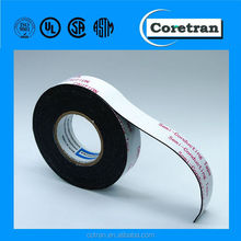 Rubber power cable tape on high voltage solid dielectric cable for conductor and insulation shielding in splices and termination