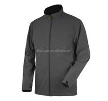 Simple design elegant mens softshell jacket good perpormance waterproof and windproof