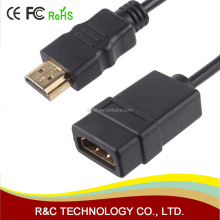 HDMI Extension Cable male to female 30CM/1M HDMI 4K 3D 1.4v HDMI Extended Cable for HD TV LCD Laptop PS3 Projector
