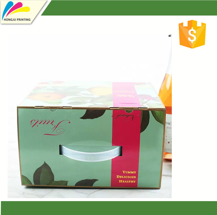 China professional printing corrugated paper package box