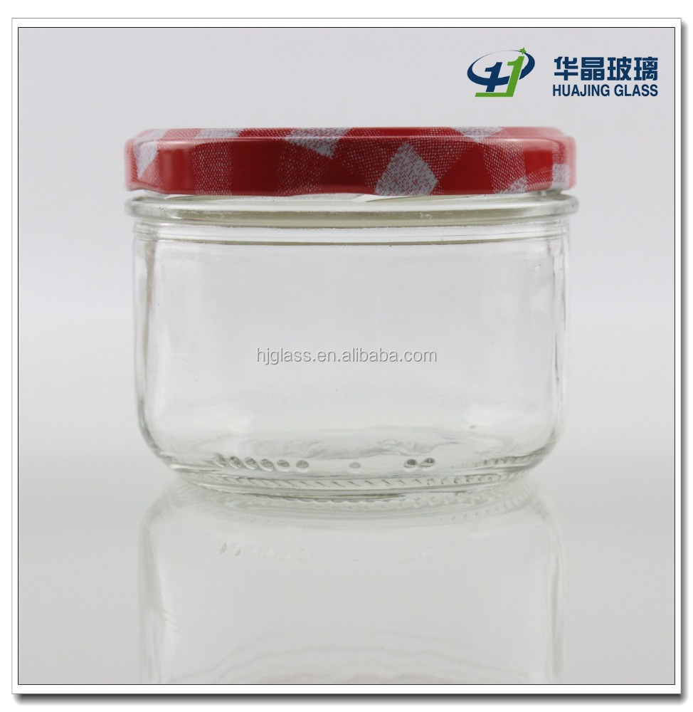jam and caviar used 200ml 7oz hermetic glass jar top quality with lug cap