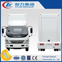 Mobile led advertising van 20FT fold out advertising screen
