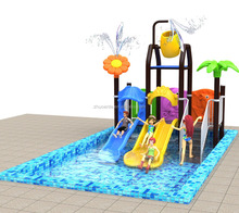 Home play water slide equipment kids plastic swimming pool party Playground outdoor equipment