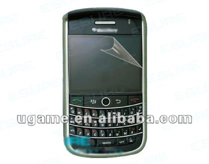 Transparent protective screen for BB9630