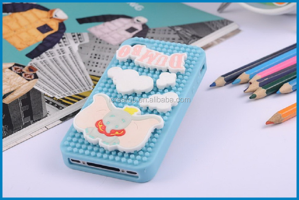 Puzzle case cover for phone,puzzle Mobile Phone Housings soft silicone cover shell for smartphone