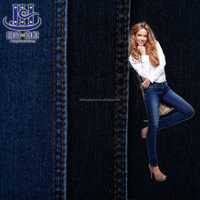 Hot selling denim jeans men knitted fabric cotton price per meter fabric agent in dubai
