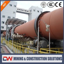 2017 Newest Technology electric cement calcination rotary kiln
