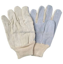 Machinist Cow Split CE EN388 Working Gloves High Quality Safety Gloves