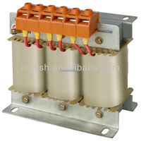 3 phase dry type isolation step down transformer