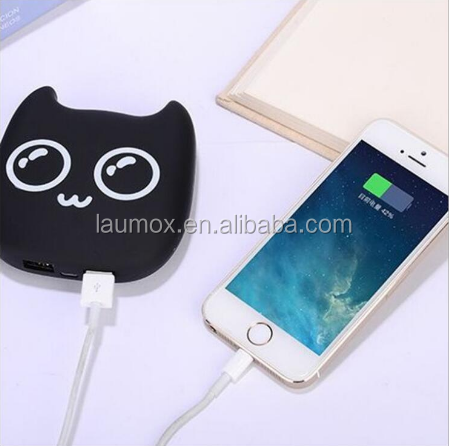 Cartoon newest cute Power Bank high power Portable External backup battery Charger For all mobile phones/pad