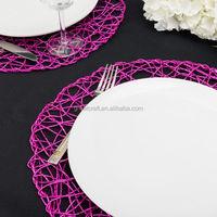 Linen tablecloth placemat