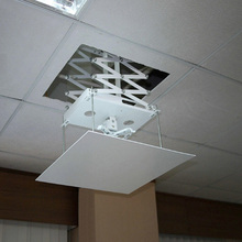 High Quality Ceiling Hidden Mount Motorized Projector Lift For Office Presentation Equipment