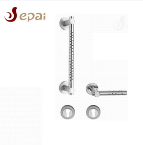 OEM stainless steel door handle with dot decorative