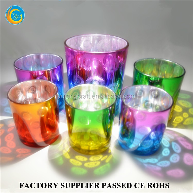 Hurricane Glass Cup Candle Holders New