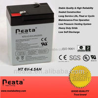 6v 4ah 20hr rechargeable battery for scales