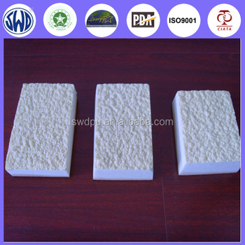 Low Carbon PU Energy Efficient Wall Bricks Building Heat Insulation Materials