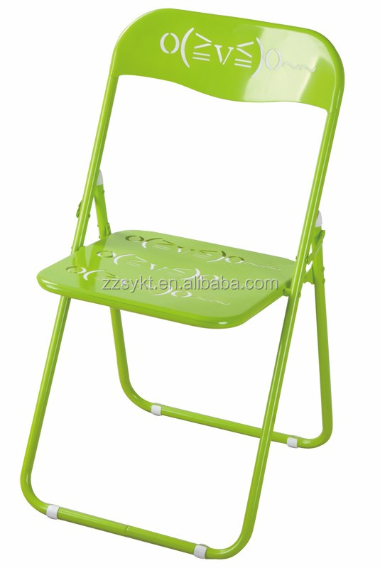 All steel metal folding chairs wholesale