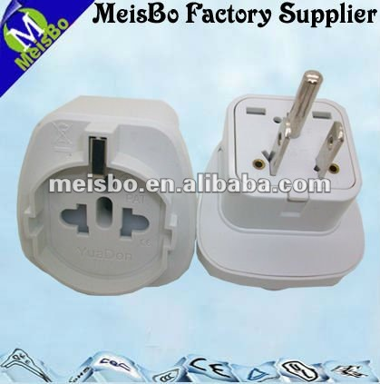 European type grounding turn to American-style 250v to110v plug adapter of US