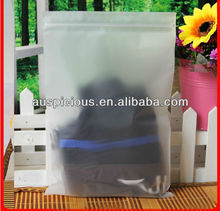 New listing thicken frosted plastic bags for clothes