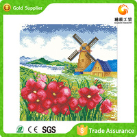 New Products on China Market Resin Embossed Household White Flower Oil Painting