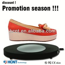 New design ! Magnetic Floating display stand for sandal ,stylo shoes in sandals