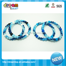 fashion Silicone bead band silicone religion bead wholesale cheap price