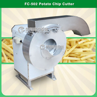 FC-502 Automatic Potato Chips Cutter Machine Mob/Whatsapp: +86 13996087563 Email: 2355347307@qq.com