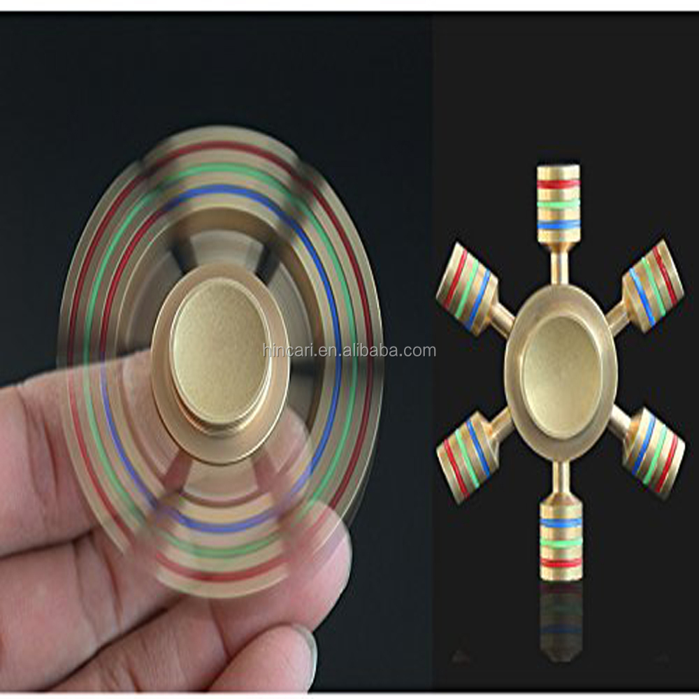 2017 Hot Sale EDC Finger Toy new pack Tri spinner Fidget Spinner hand spinner