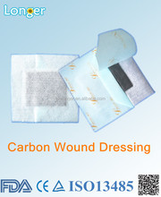 medical dressing with activated carbon for surgery wound