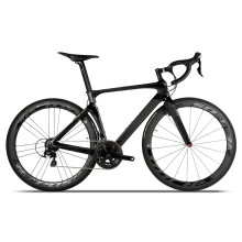Hot sale 700C bicycle racing road 22 speed 105 groupset carbon fibre complete wheel road bike