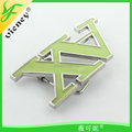 AX Letter design metal buckle hot design Buckle