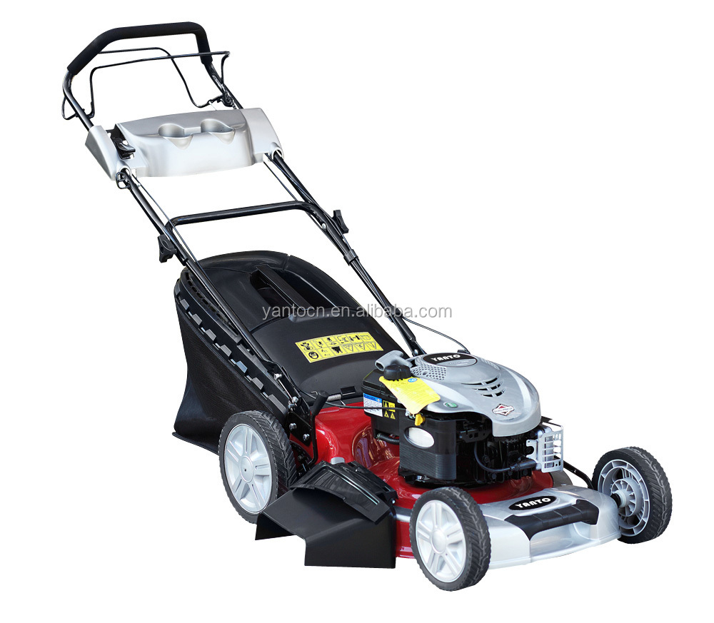"20""3in1 Steel deck Gasoline Dulex Lawn mower with B&S engine"