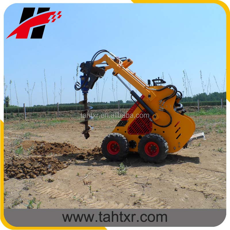 China good price skid steer loader like racoon made in China