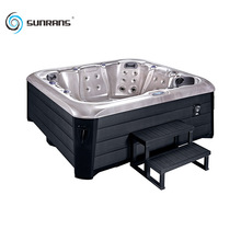Sunrans 6 person 28 jets used freestanding economic outdoor hot tub