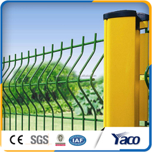 Security Triangle Fence/ Welded Bend Fence Panel / Yard Guard Wire Mesh Fence (ISO9001 factory)